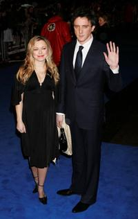 Sarah Alexander and Peter Serafinowicz at the world premiere of
