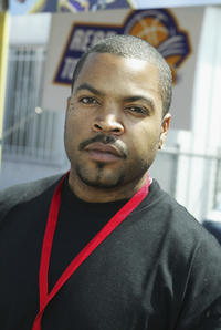 Ice Cube at Shaquille O'Neal's childrens benefit