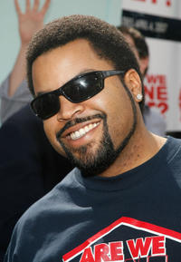 Ice Cube at the premiere of the