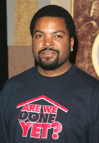 Ice Cube at a promotional event for