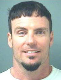 Vanilla Ice at the Palm Beach County Sheriff's Office.