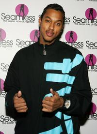 Wesley Jonathan at the grand opening of the Seamless Adult Ultra Lounge.