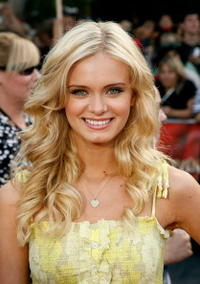 Sara Paxton at the Anaheim premiere of