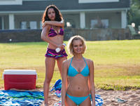 Alyssa Diaz as Maya and Sara Paxton as Sara in
