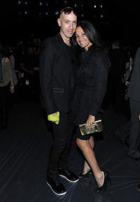 Robert Verdi and Emma Snowdon Jones at the Concept Korea Spring 2011 Fashion show during the Mercedes-Benz Fashion Week.