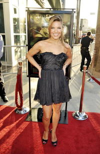 Kiele Sanchez at the California premiere of
