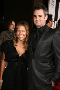 Kiele Sanchez and Zach Helm at the premiere of