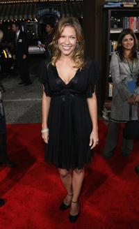 Kiele Sanchez at the premiere of