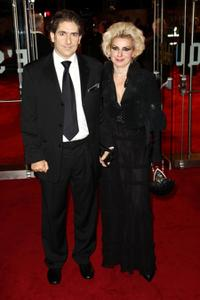 Michael Imperioli and Guest at the London premiere of