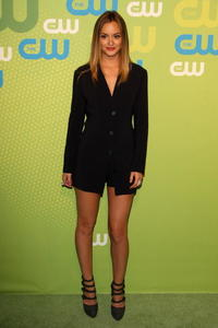 Leighton Meester at the 2009 The CW Network Upfront.