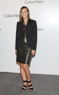 Leighton Meester at the Calvin Klein 40th Anniversary during the Mercedes-Benz Fashion Week.