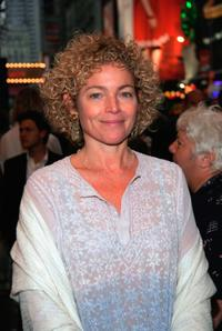 Amy Irving at the New York opening night of