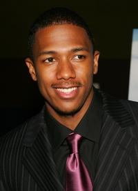 Nick Cannon at the premiere of