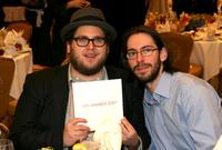 Jonah Hill and Martin Starr at the 8th Annual AFI Awards cocktail reception.