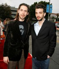 Martin Starr and Jay Baruchel at the premiere of