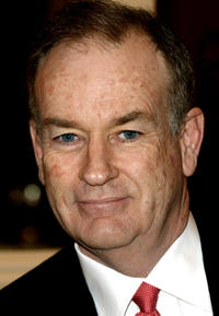Bill O'Reilly at the Hollywood Radio and Television Society's cable chiefs newsmakers luncheon in California.