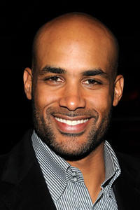 Boris Kodjoe attends GQ, Cadillac, Lacoste and Patron Tequila Celebrating the Coolest Athletes and the Big Game hosted by Andy Roddick at Hickory Street Annex.