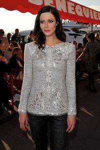 Anna Mouglalis at the Chanel Cruise Collection Presentation.