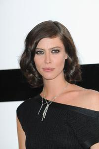 Anna Mouglalis at the Paris Fashion Week Haute Couture A/W 2009/10.