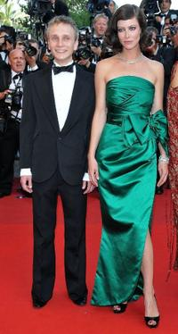 Anna Mouglalis and Guest at the premiere of