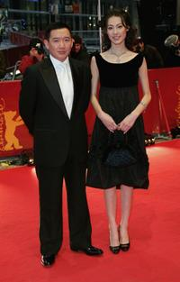 Chapman To and Isabella Leung at the premiere of