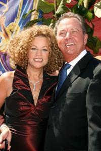 Gregory Itzin and wife at the 58th Annual Primetime Emmy Awards.