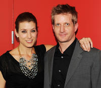 Kate Walsh and Paul Sparks at the opening night of