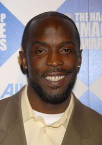 Michael Kenneth Williams at the 38th NAACP Image Awards.