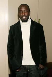 Michael Kenneth Williams at the 35th Anniversary of the Jackie Robinson Foundation.