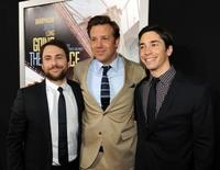Charlie Day, Jason Sudeikis and Justin Long at the premiere of