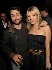 Charlie Day and Mary Elizabeth Ellis at the EW and SyFy party during the Comic-Con 2010.