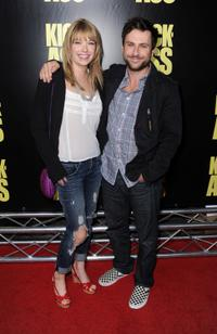Mary Elizabeth Ellis and Charlie Day at the premiere of