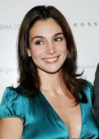 Annie Parisse at the screening of