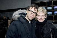 Fred Armisen and Martha Plimpton at the Museum of Television & Radio for the Showtime Networks Preview of