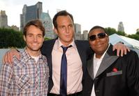 Will Forte, Will Arnett and Kenan Thompson at the 2008 FOX Upfront after party.