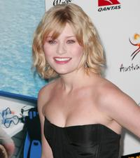 Emilie de Ravin at the GDAY USA Australia.com Black Tie Gala.