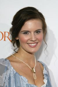 Maggie Grace at the premiere screening of