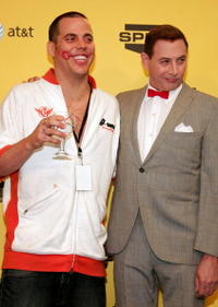 Steve-O and Paul Rubens at the taping of Spike TV's First Annual