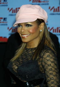 Janet Jackson at the MTV Video Music Awards in New York City.