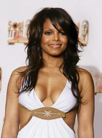 Janet Jackson at the 18th Annual Soul Train Music Awards in Los Angeles, California.