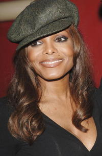 Janet Jackson at Johnny Gill's 40th birthday celebration in Universal City, California.