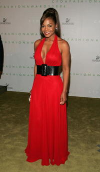 Janet Jackson at the 2006 CFDA Awards in New York City.