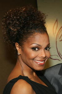 Janet Jackson at the 9th Annual Dinner Benefiting the Lili Claire Foundation in Beverly Hills, California.