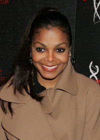 Janet Jackson at Genetic Denim's one-year anniversary in Los Angeles, California.