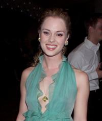 Kate Levering at the post opening party of