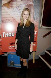 Kate Levering at the preview of