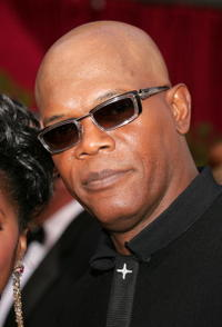 Samuel L. Jackson at the 77th Annual Academy Awards.