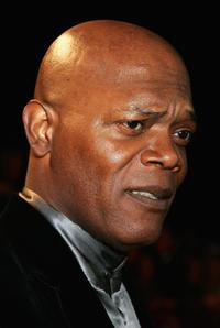 Samuel L. Jackson at the Swarovski Fashion Rocks concert.