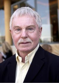Derek Jacobi at the press conference at Hyatt hotel.