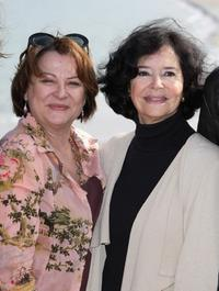 Josiane Balasko and Marie-Jose Nat at the Jury photocall of the 18th British Film Festival.